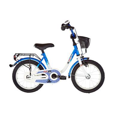 """Vélo Enfant VERMONT KAPITAN 14"""" Bleu/Blanc 2019"""